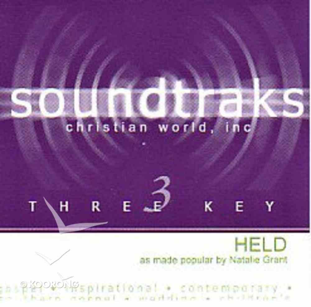 Held (Accompaniment) CD