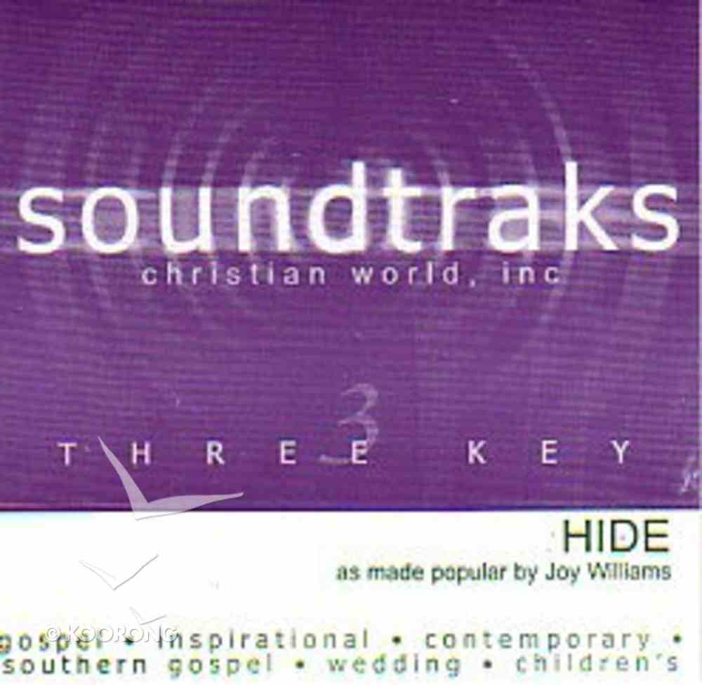 Hide (Accompaniment) CD
