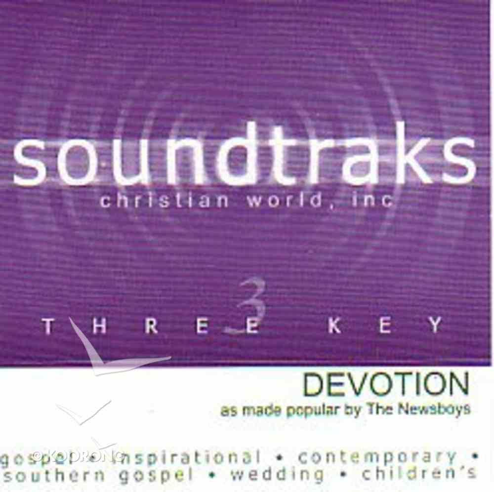 Devotion (Accompaniment) CD