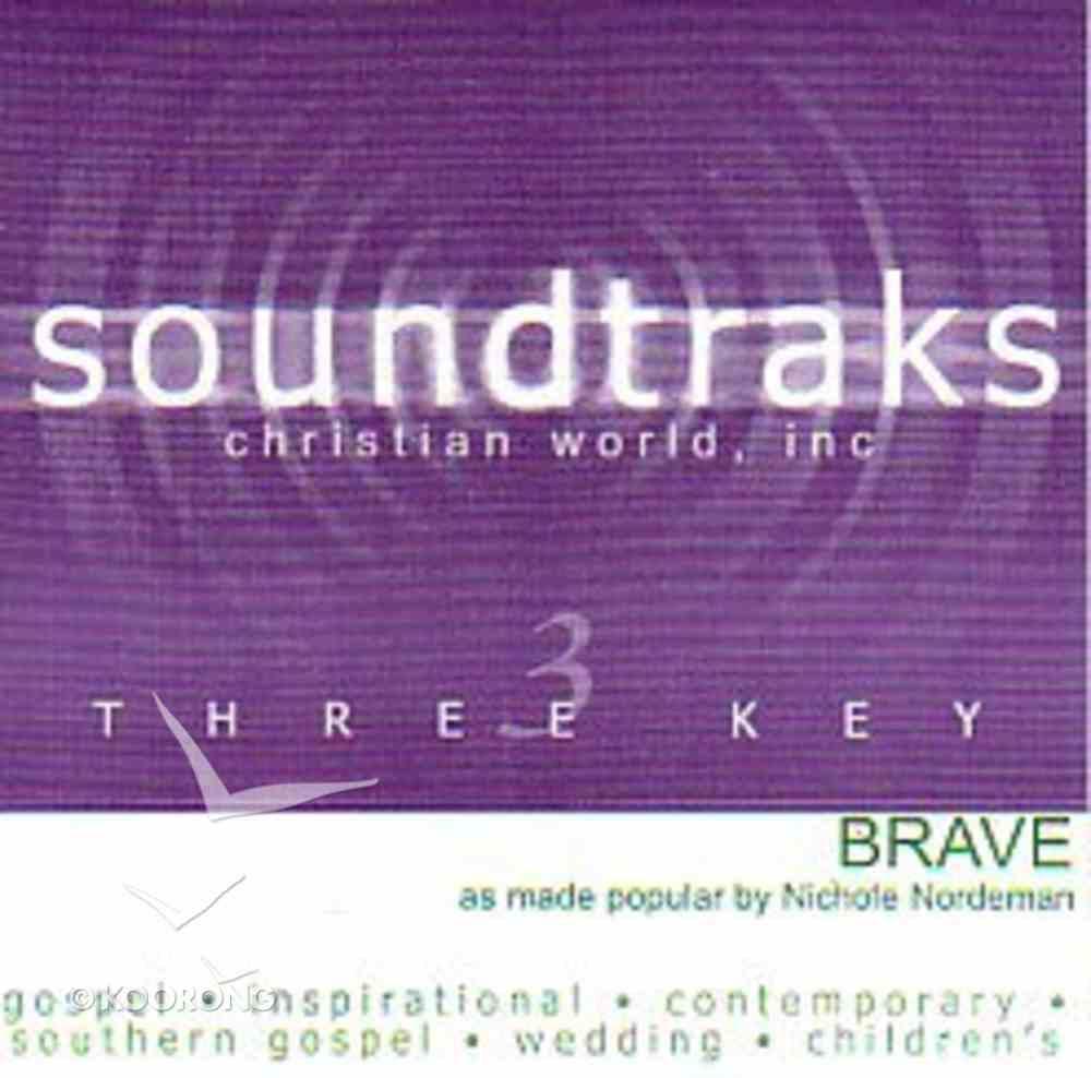 Brave (Accompaniment) CD