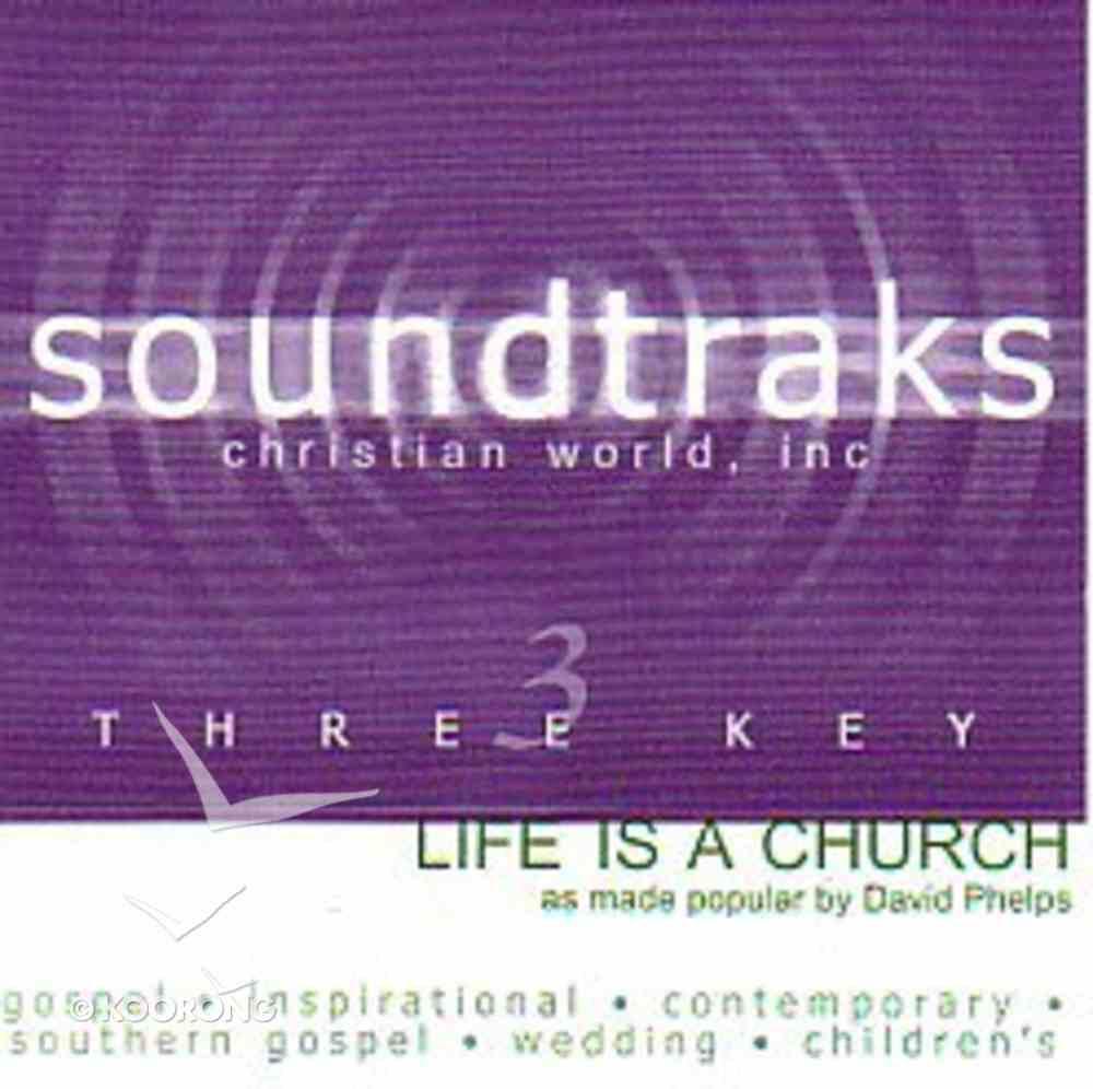 Life is a Church (Accompaniment) CD