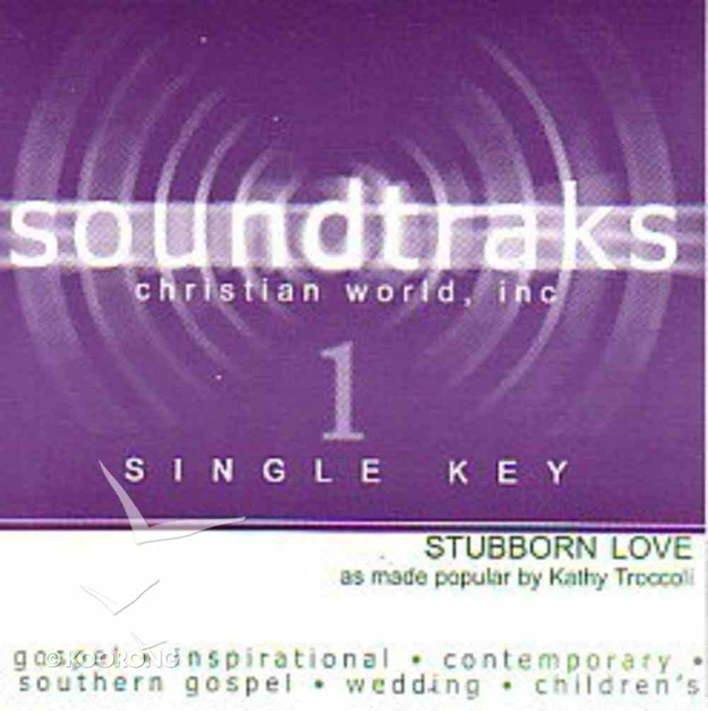 Stubborn Love (Accompaniment) CD