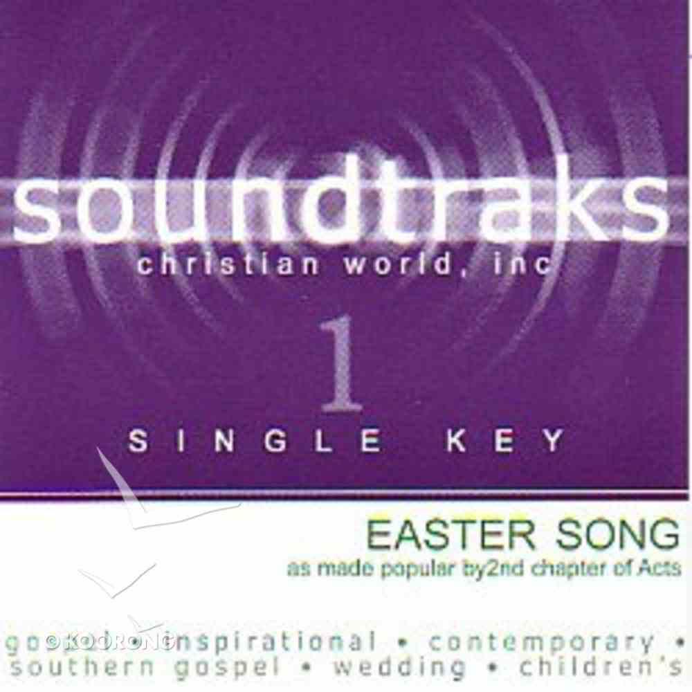 Easter Song (Accompaniment) CD
