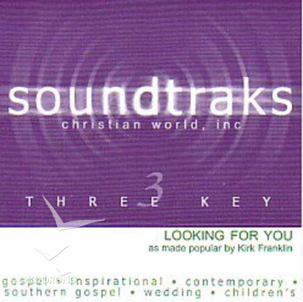 Looking For You (Accompaniment) CD