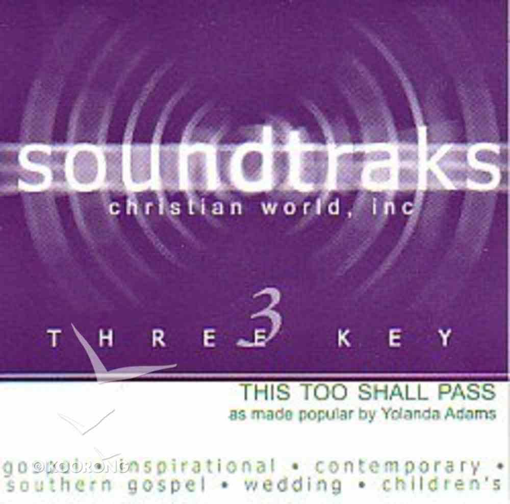 This Too Shall Pass (Accompaniment) CD