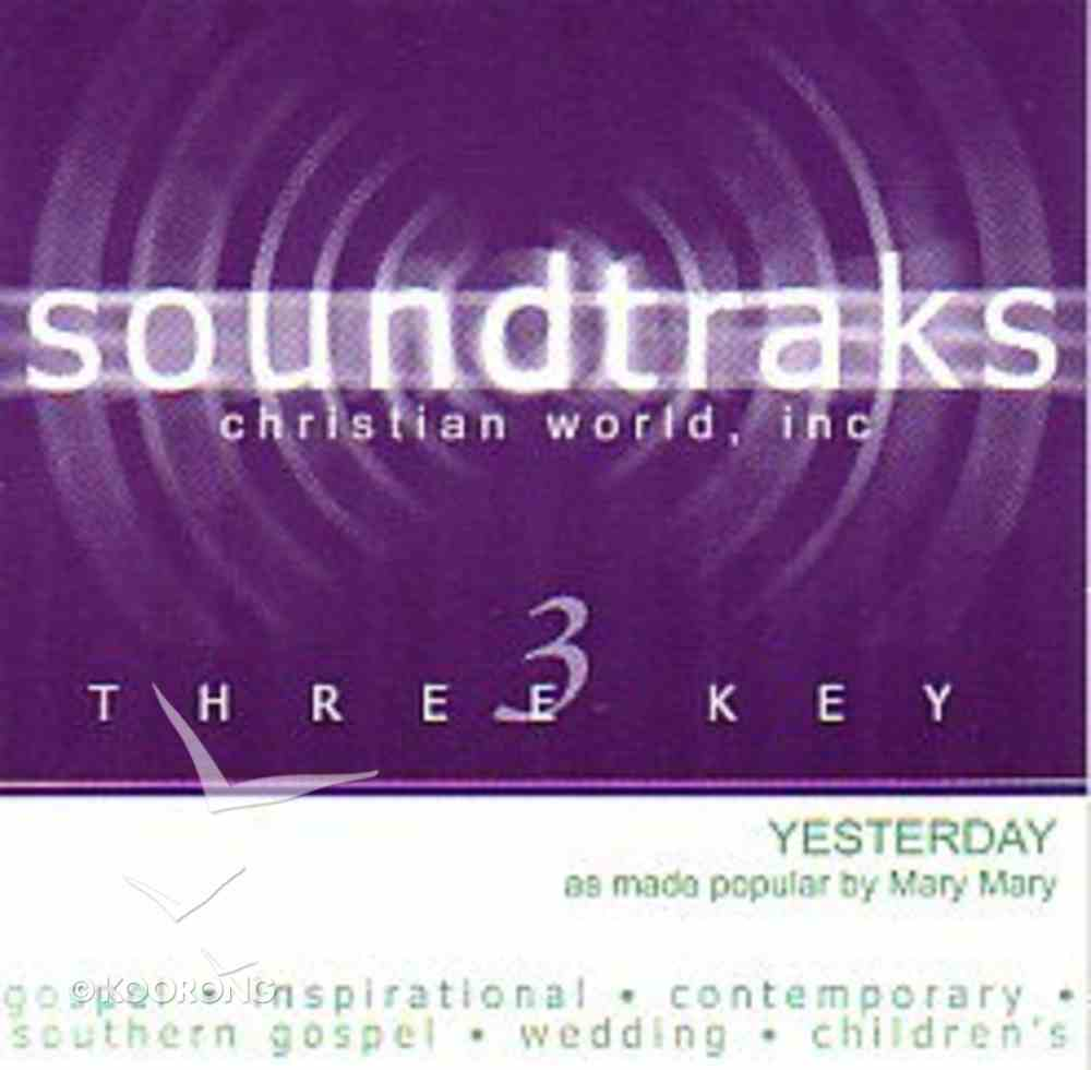 Yesterday (Accompaniment) CD