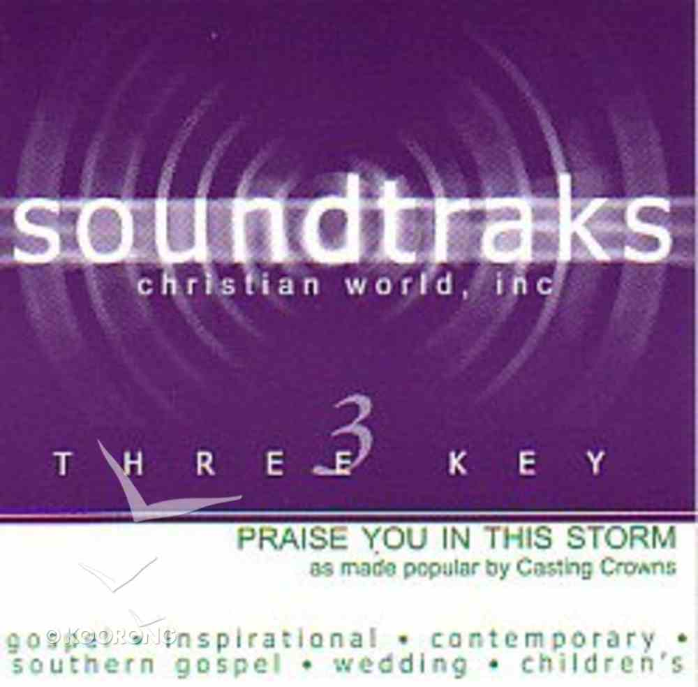 Praise You in This Storm (Accompaniment) CD