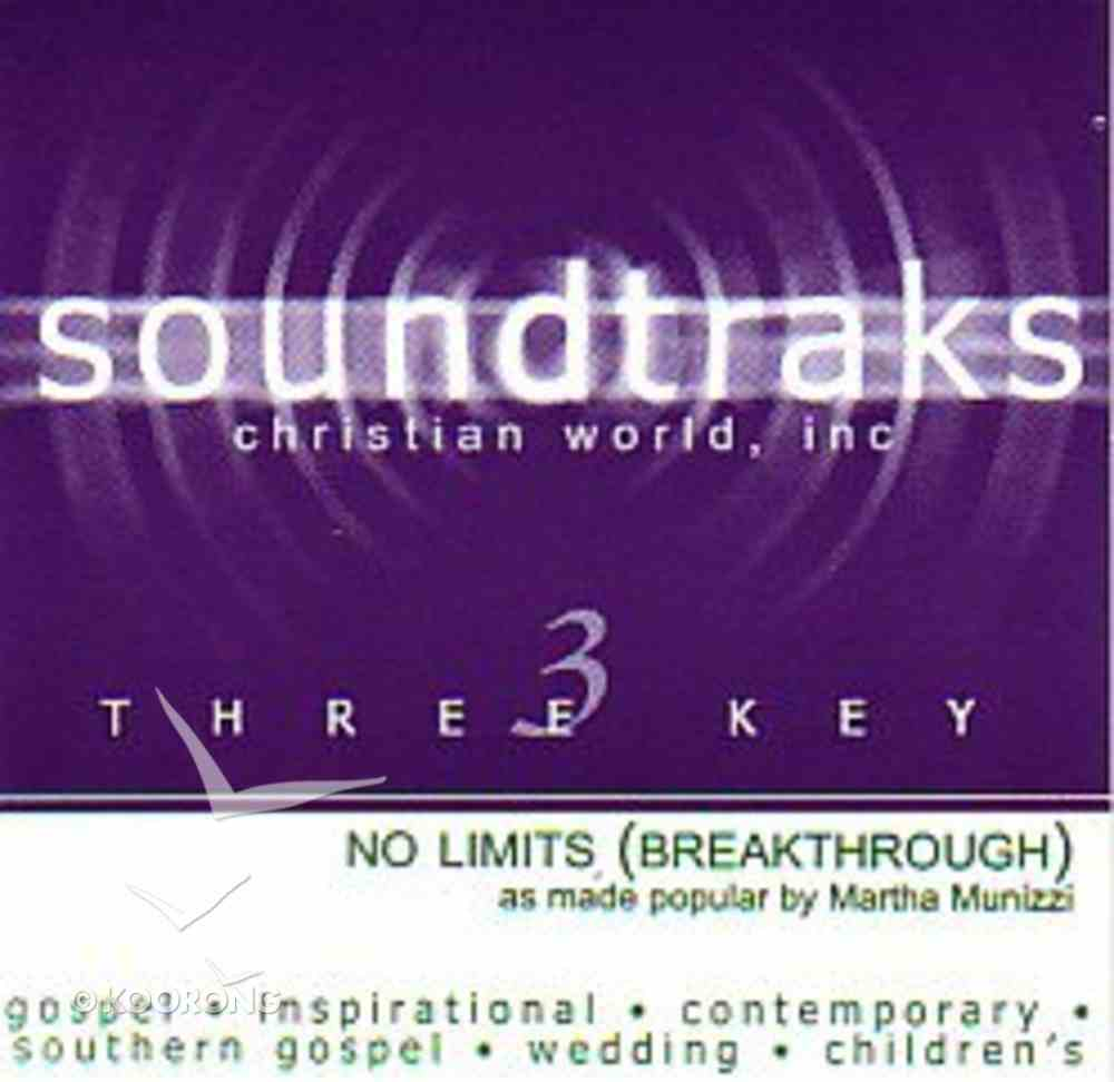No Limits (Accompaniment) (Breakthough) CD