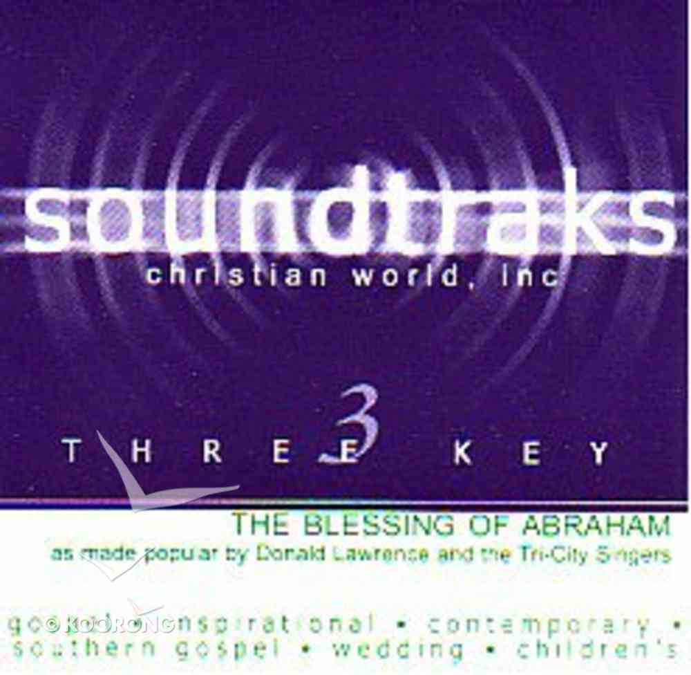 The Blessing of Abraham (Accompaniment) CD