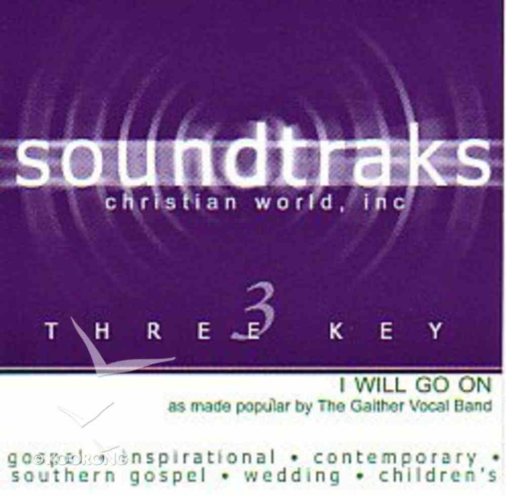 I Will Go on (Accompaniment) CD