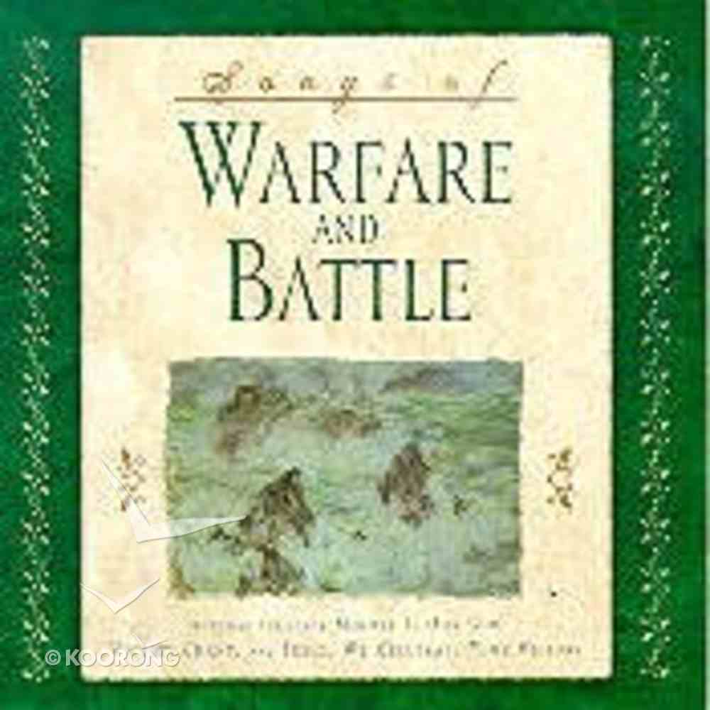 Songs of Warfare and Battle CD