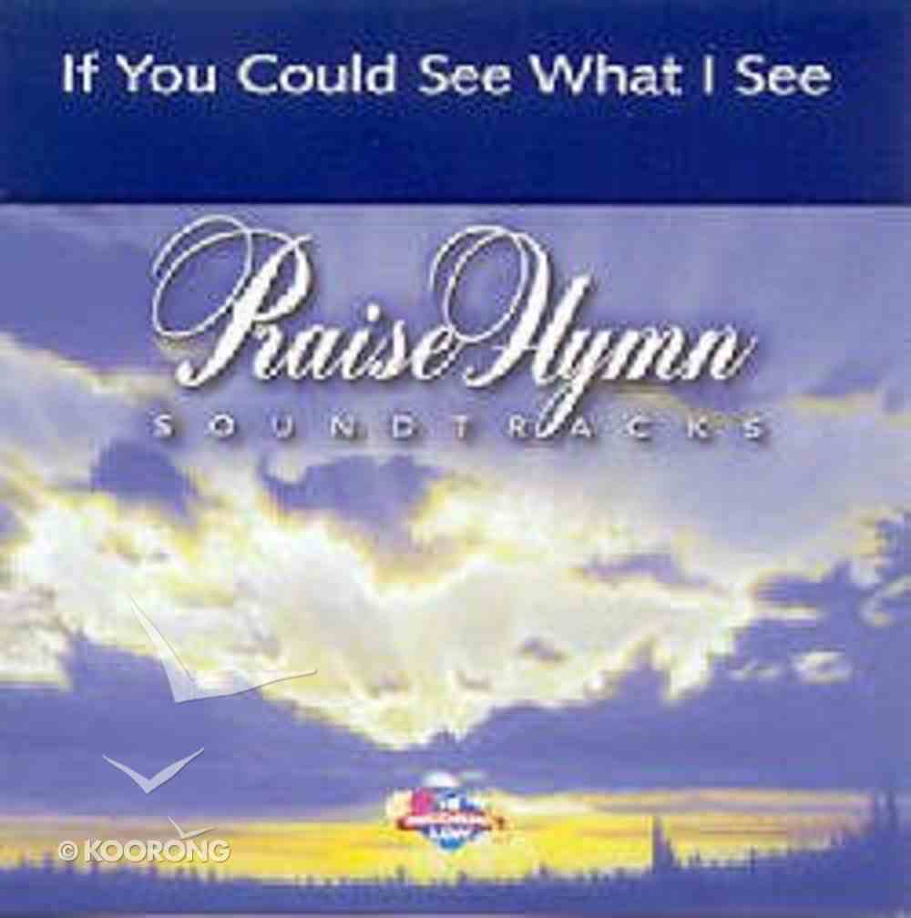 If You Could See What I See (Accompaniment) CD