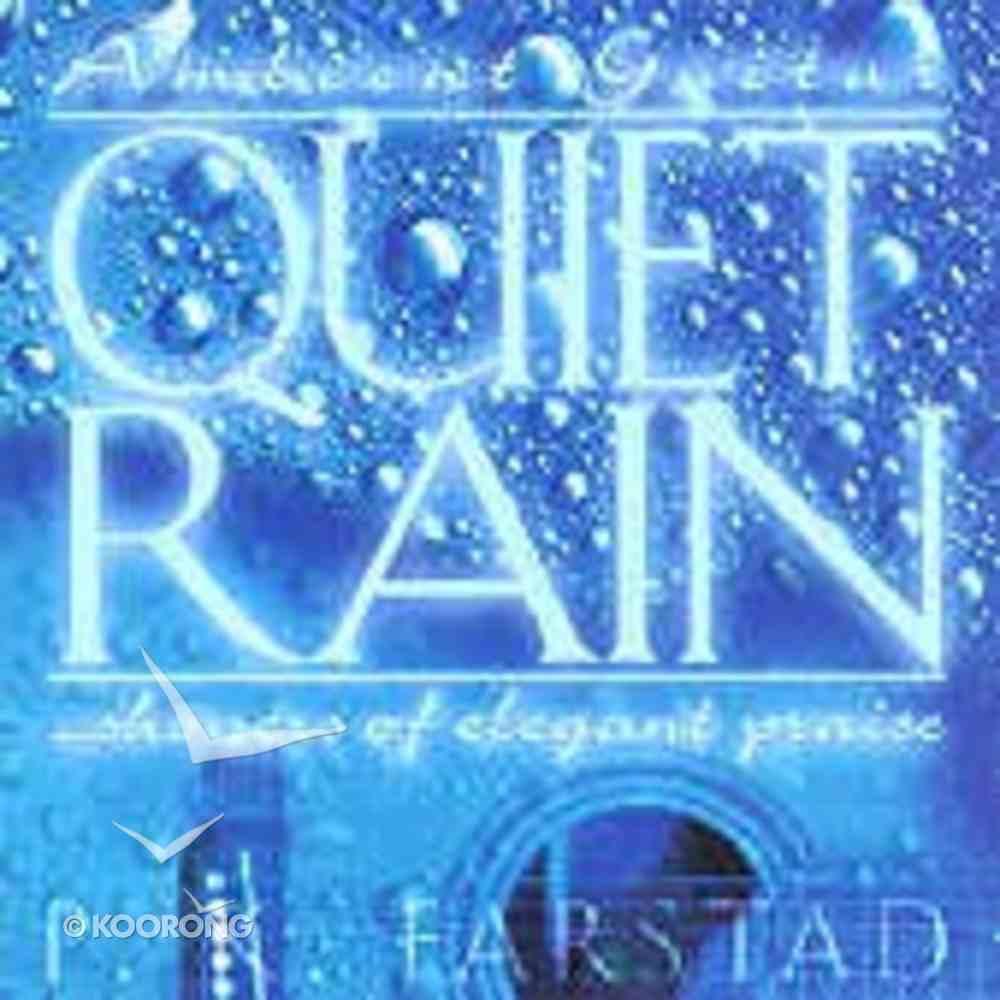Quiet Rain CD