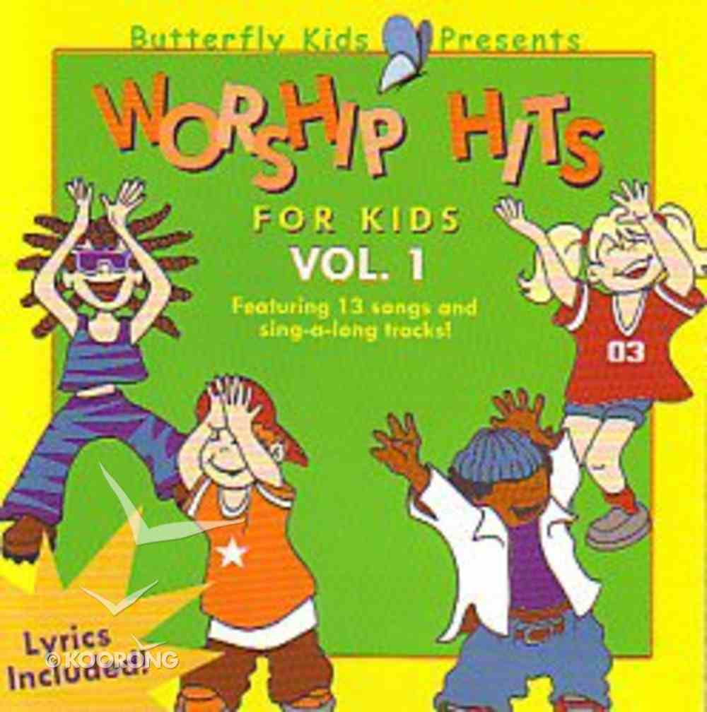 Worship Hits For Kids Vol.1 (Butterfly Kids Presents Series) CD