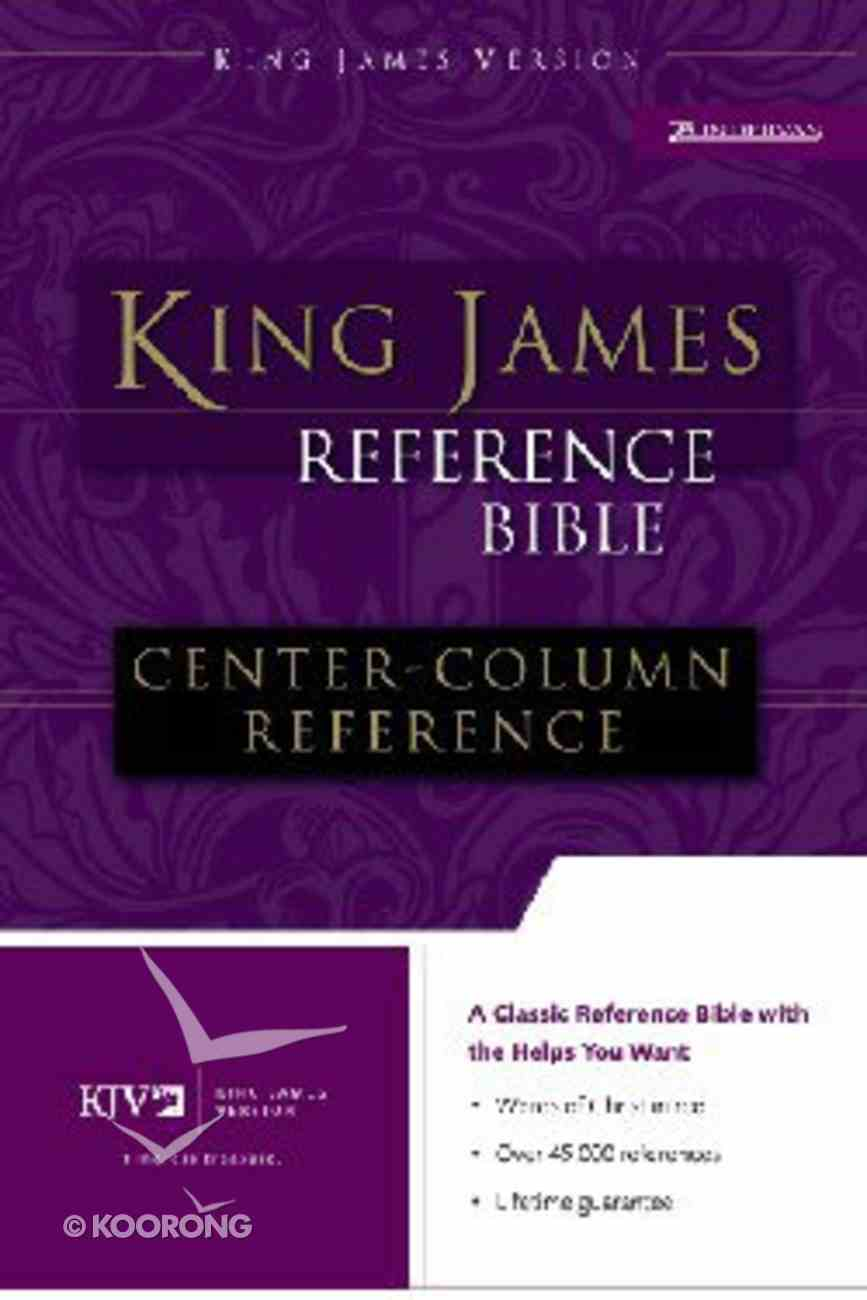 KJV Reference Bible Navy (Red Letter Edition) Imitation Leather