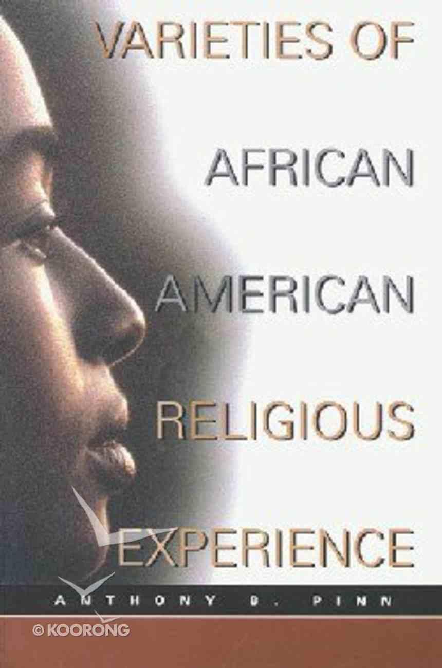 Varieties of African American Religion Paperback