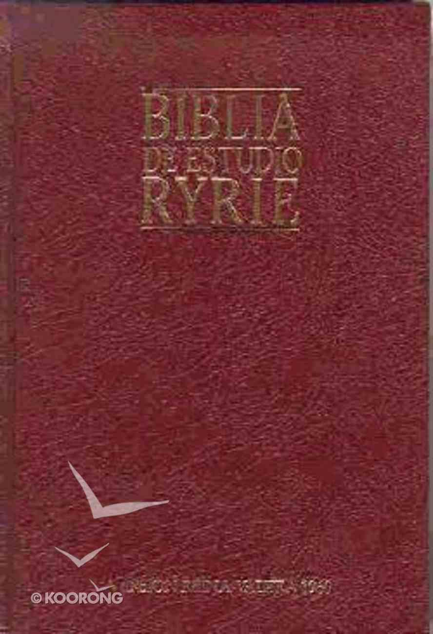 Biblia De Estudio Ryrie (Ryrie Study Bible) Hardback