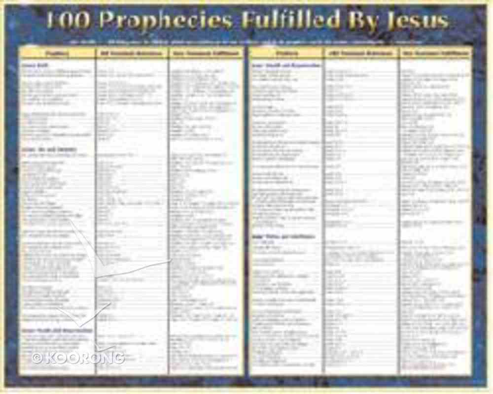 prophecies christ fulfilled