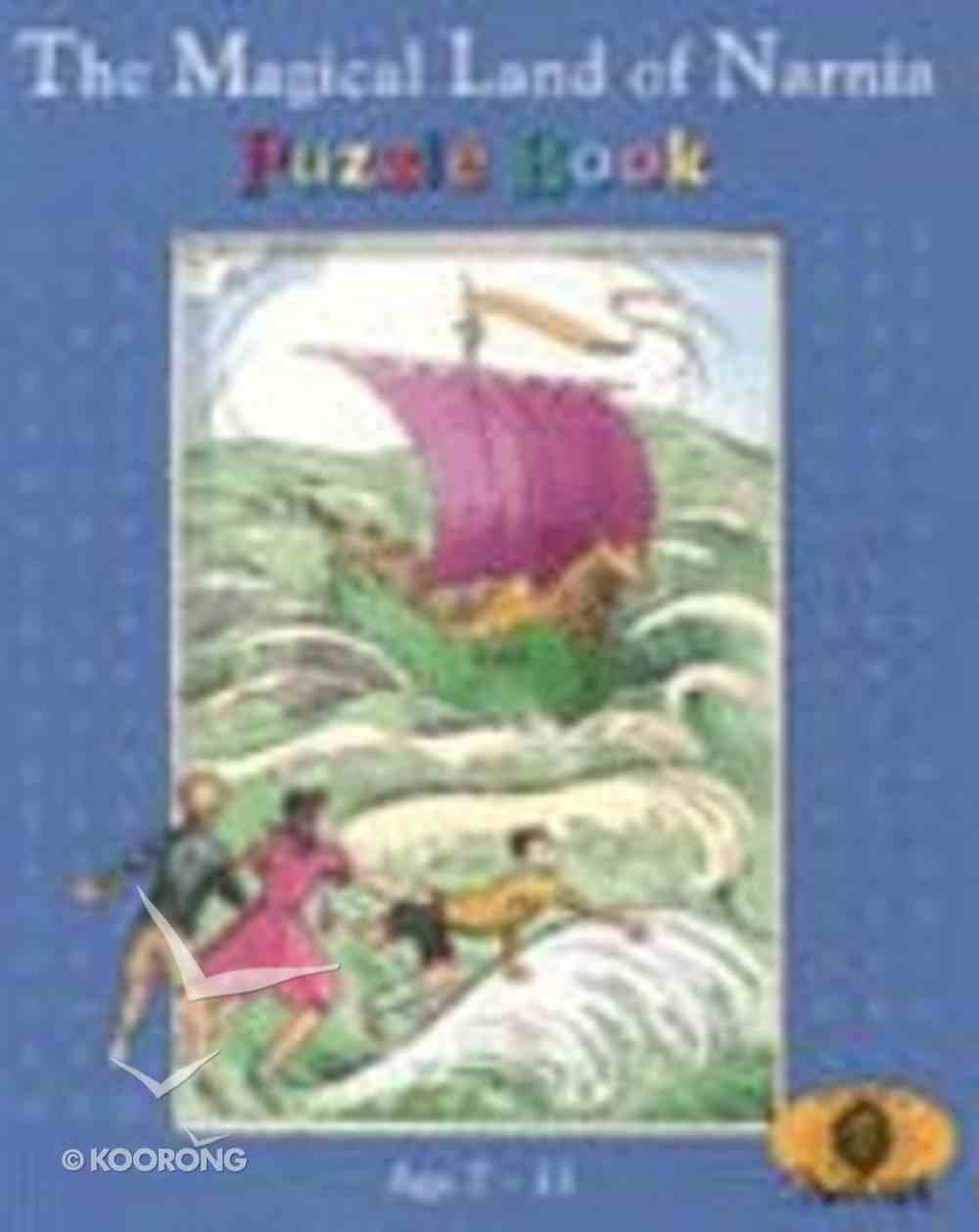 Magical Land of Narnia Puzzle Book Paperback