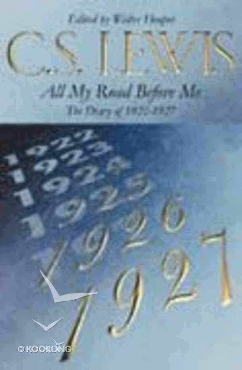 All My Road Before Me Paperback