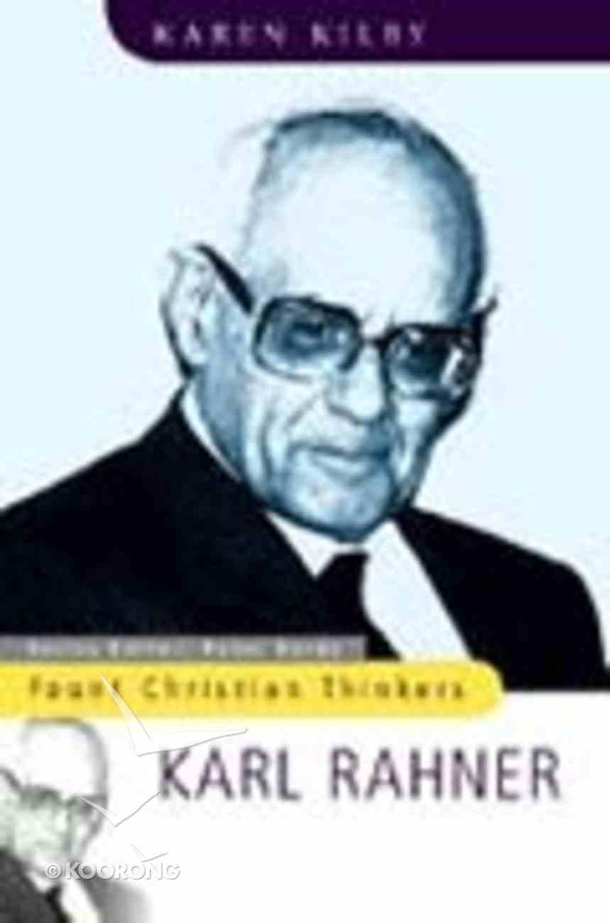 Fount Christian Thinkers: Karl Rahner Paperback