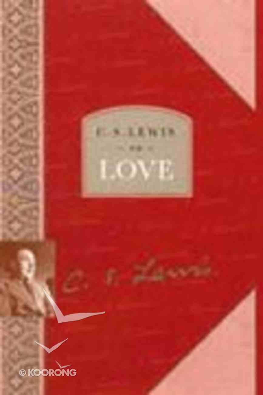 Lewis on Love Hardback