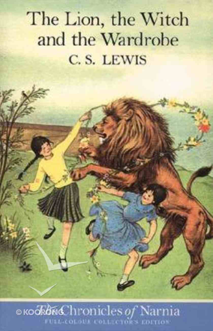 Narnia #02: Lion, the Witch and the Wardrobe, the (Colour Edition) (#02 in Chronicles Of Narnia Series) Paperback