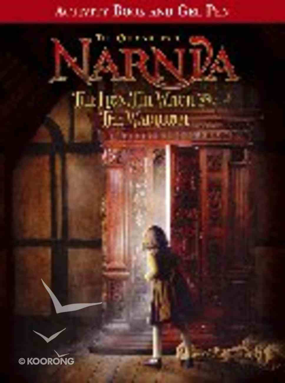 Activity Book and Gel Pen (Chronicles Of Narnia Lion Witch And Wardrobe Series) Paperback
