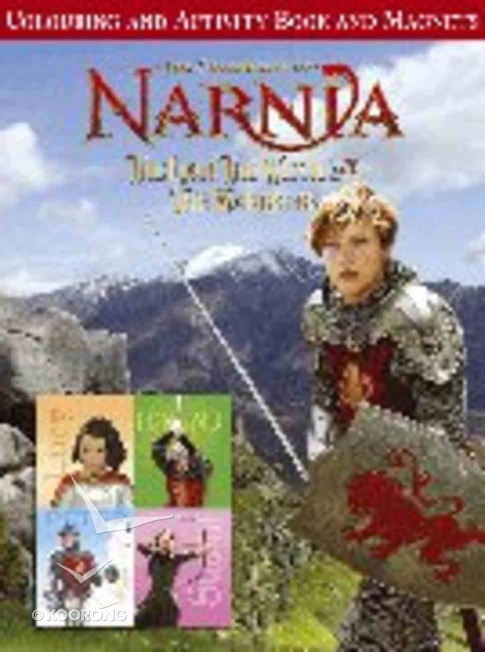 Activity Book and Magnets (Chronicles Of Narnia Lion Witch And Wardrobe Series) Paperback