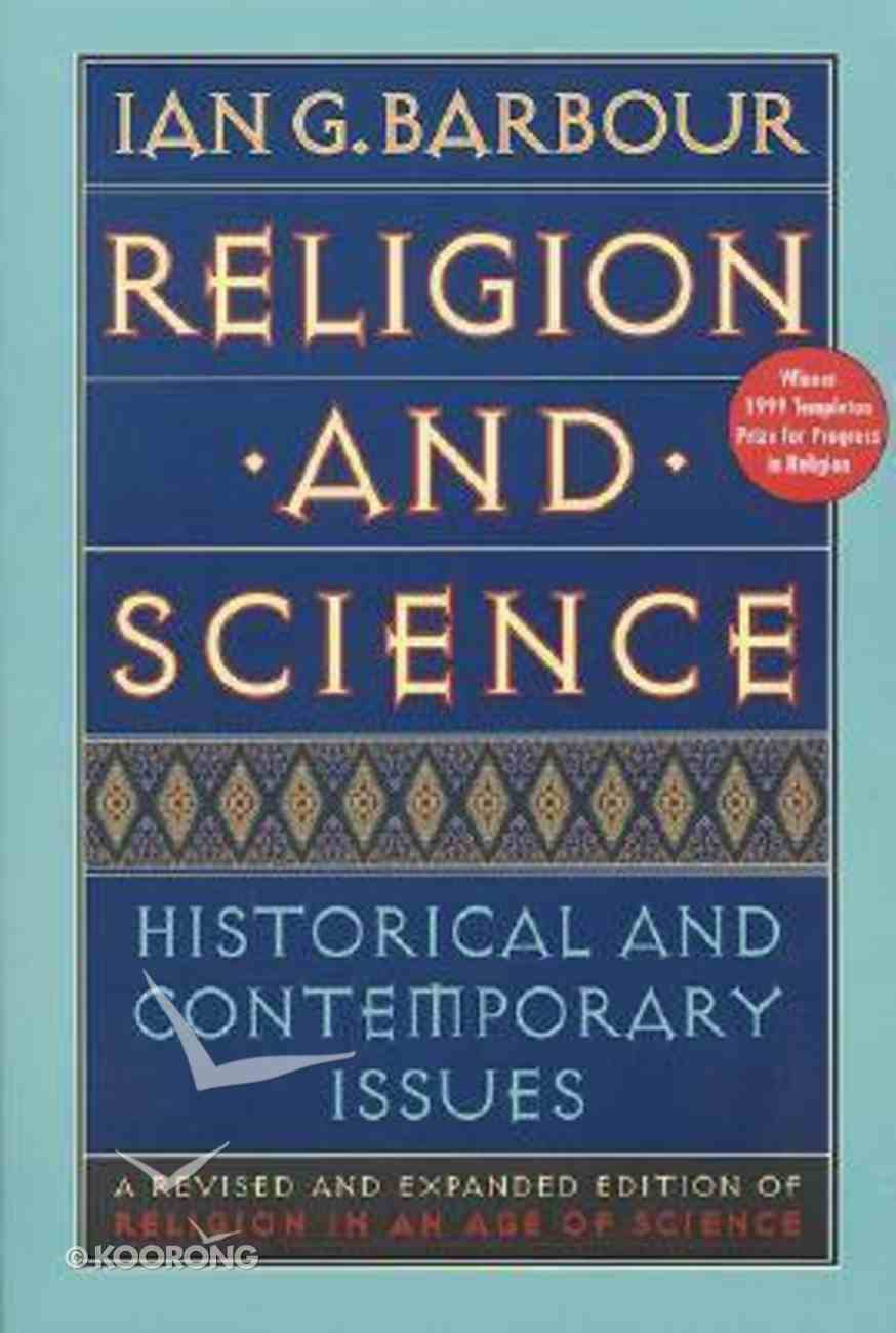 Religion and Science (1997) Paperback