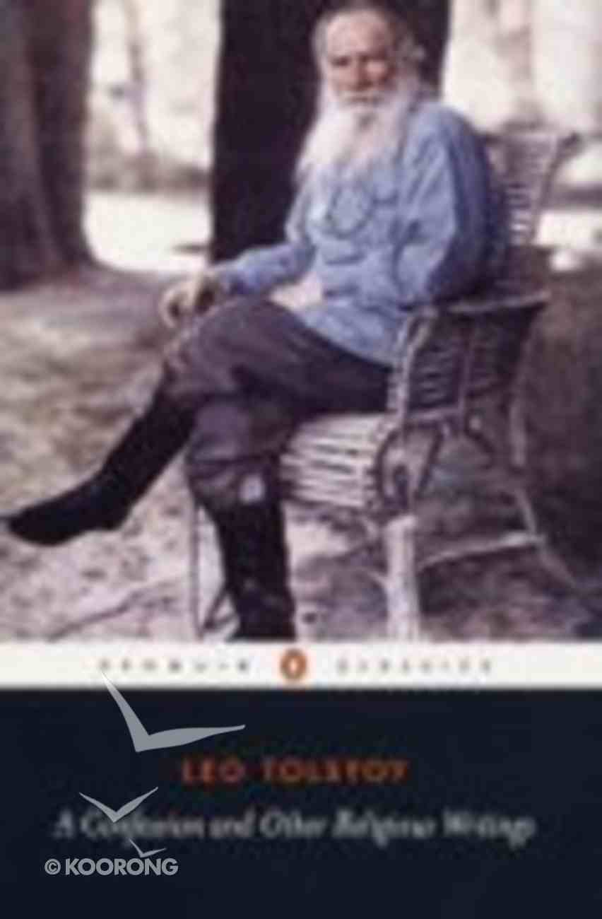 Confession & Other Religious Writings (Penguin Black Classics Series) Paperback