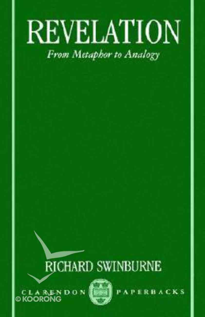 Revelation: From Metaphor to Analogy Paperback