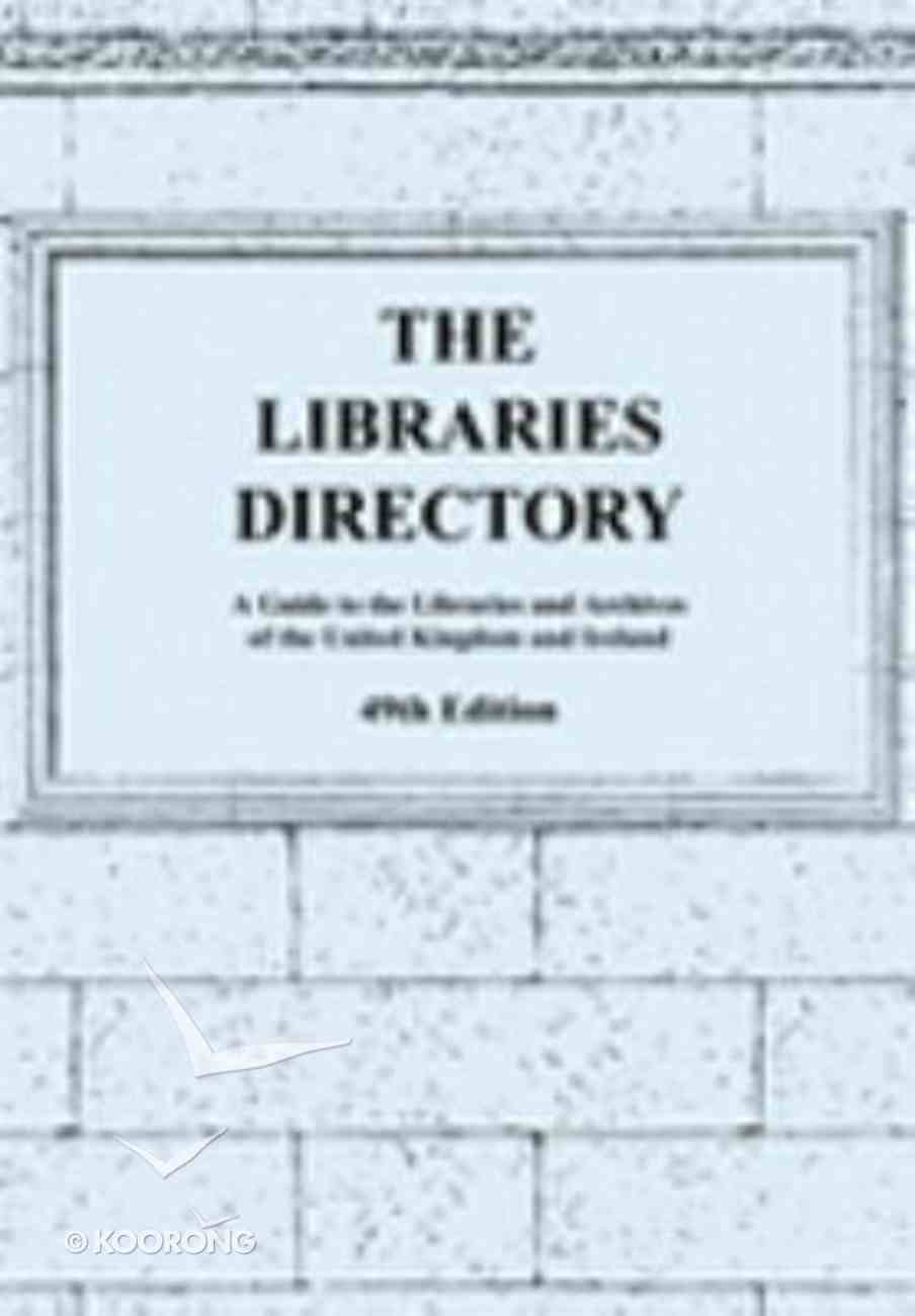 The Libraries Directory Pack