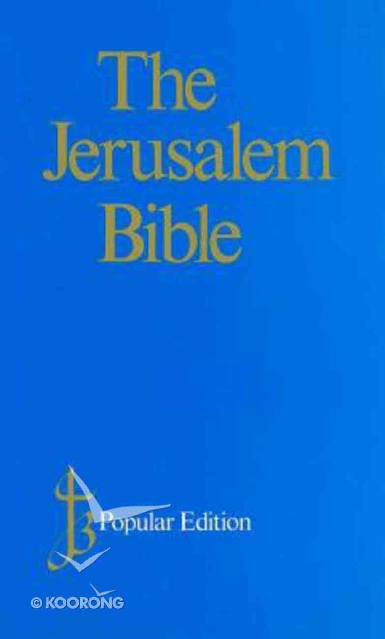 Jerusalem Popular Blue Hardback