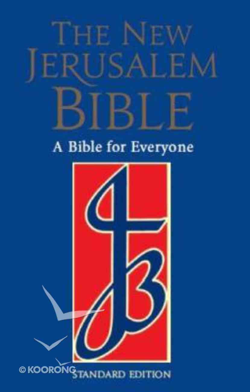 New Jerusalem Standard With Study Notes Blue Hardback