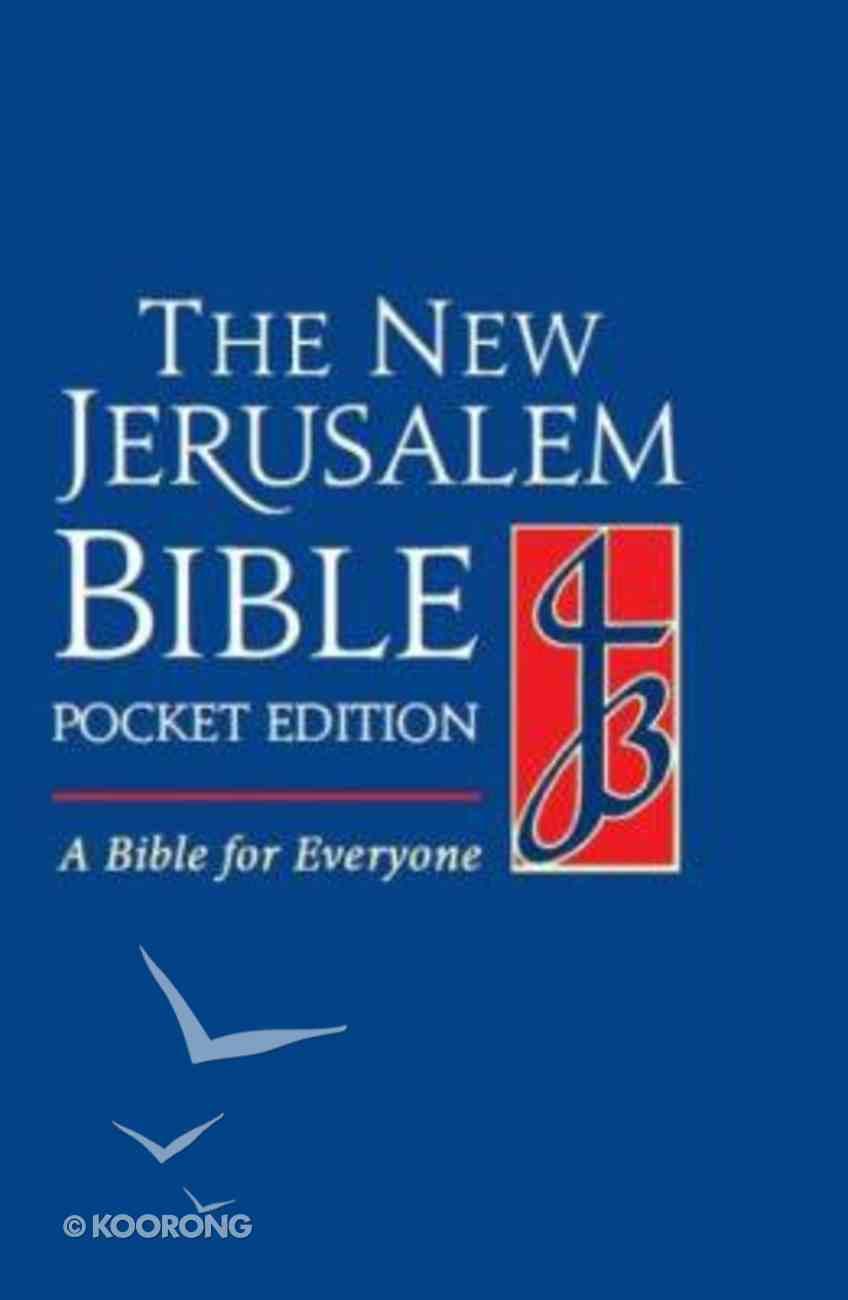 New Jerusalem Pocket Blue Hardback