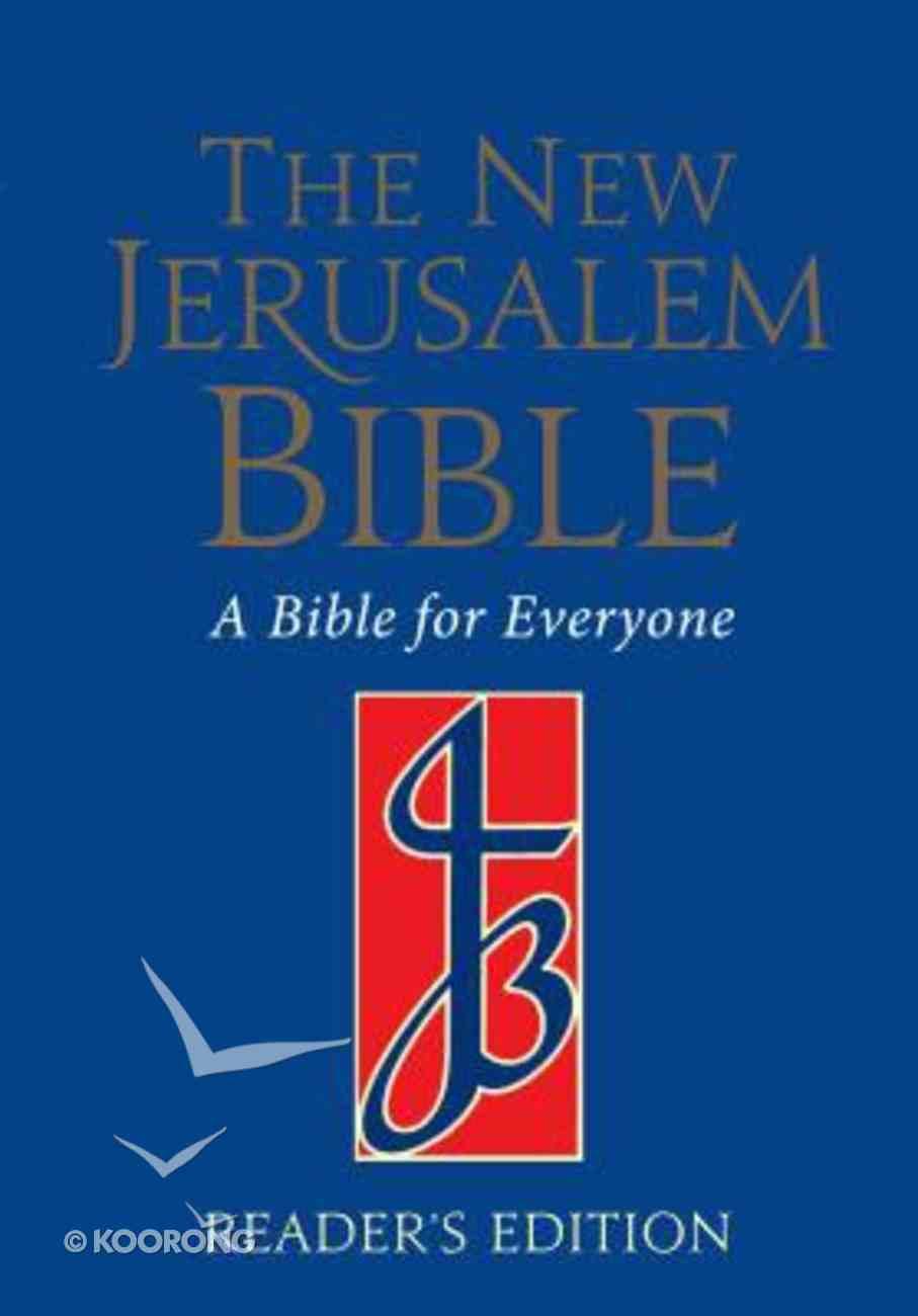 New Jerusalem Reader's Edition Blue Hardback