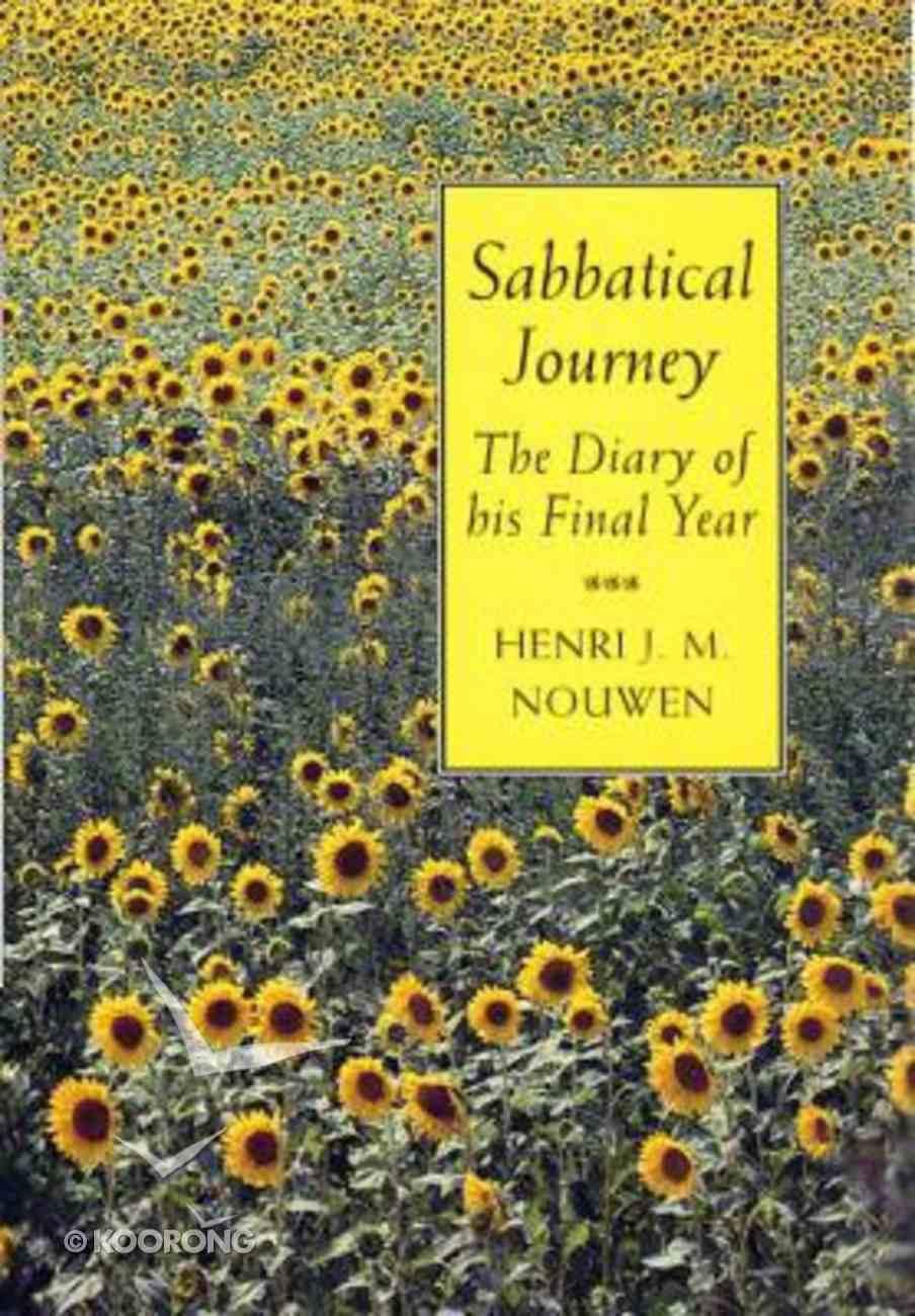 Sabbatical Journey Paperback