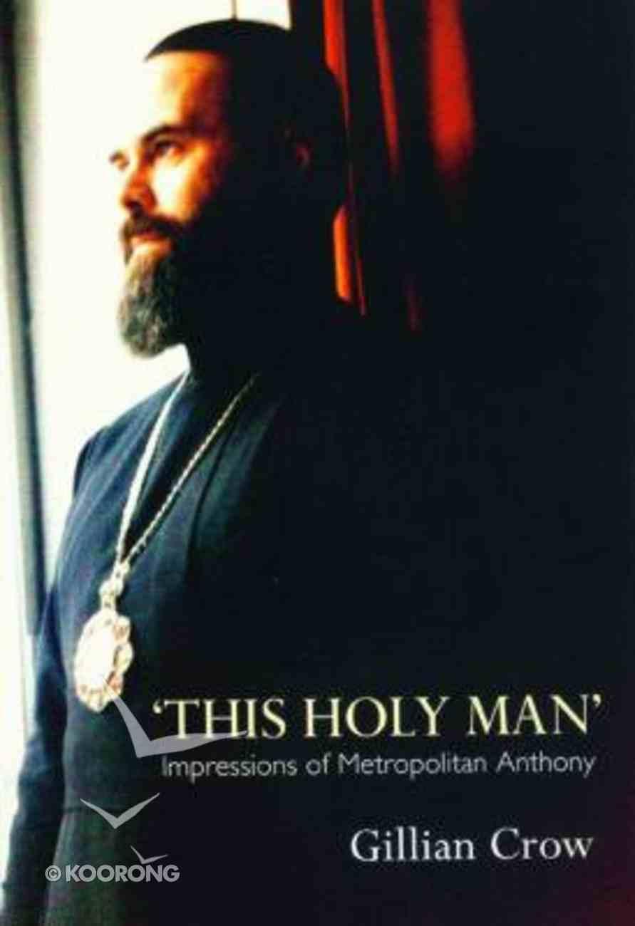 This Holy Man Paperback
