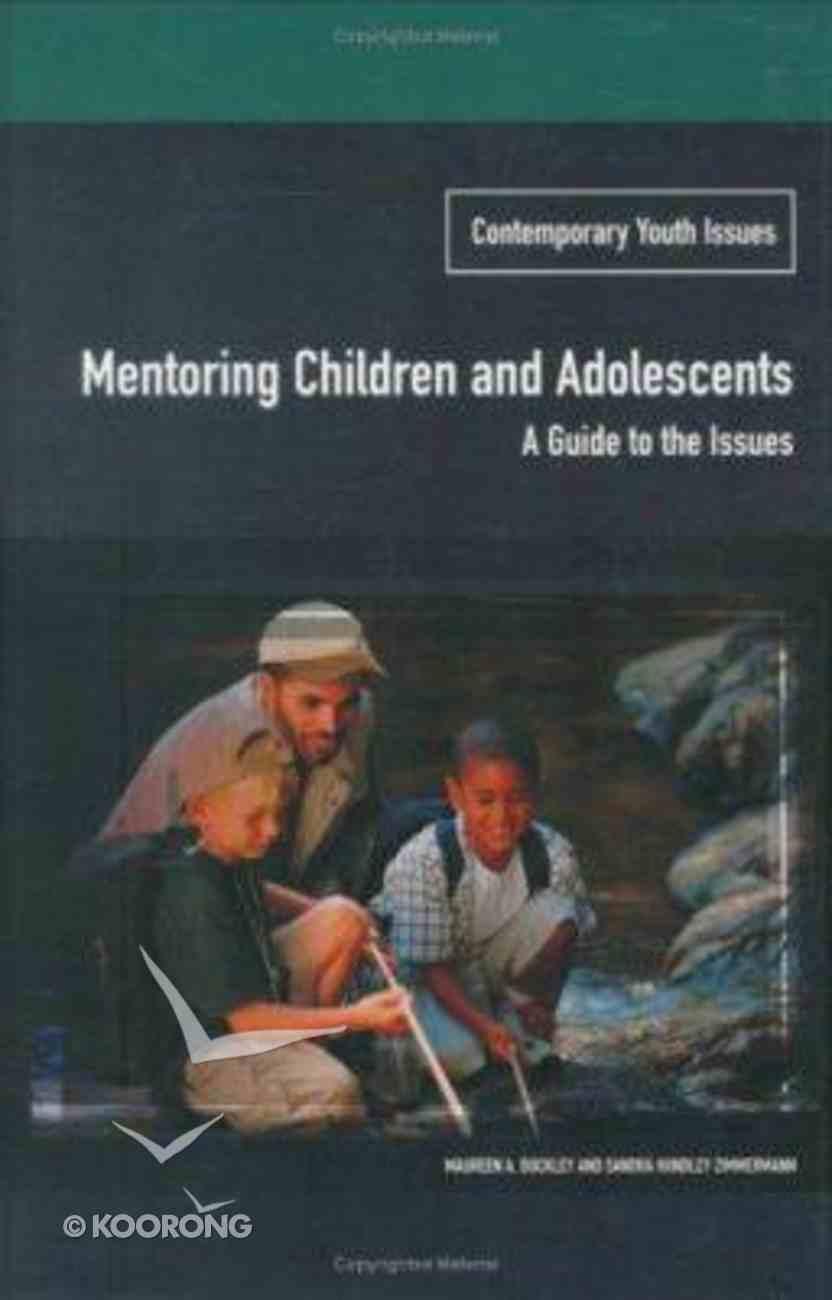 Mentoring Children and Adolescents Hardback