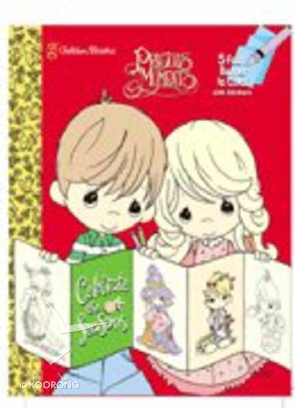 Celebrate the Seasons (Precious Moments) (Golden Books Series) Paperback