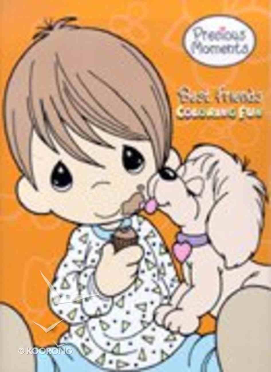 Best Friends Coloring Fun (Precious Moments) (Golden Books Series) Paperback