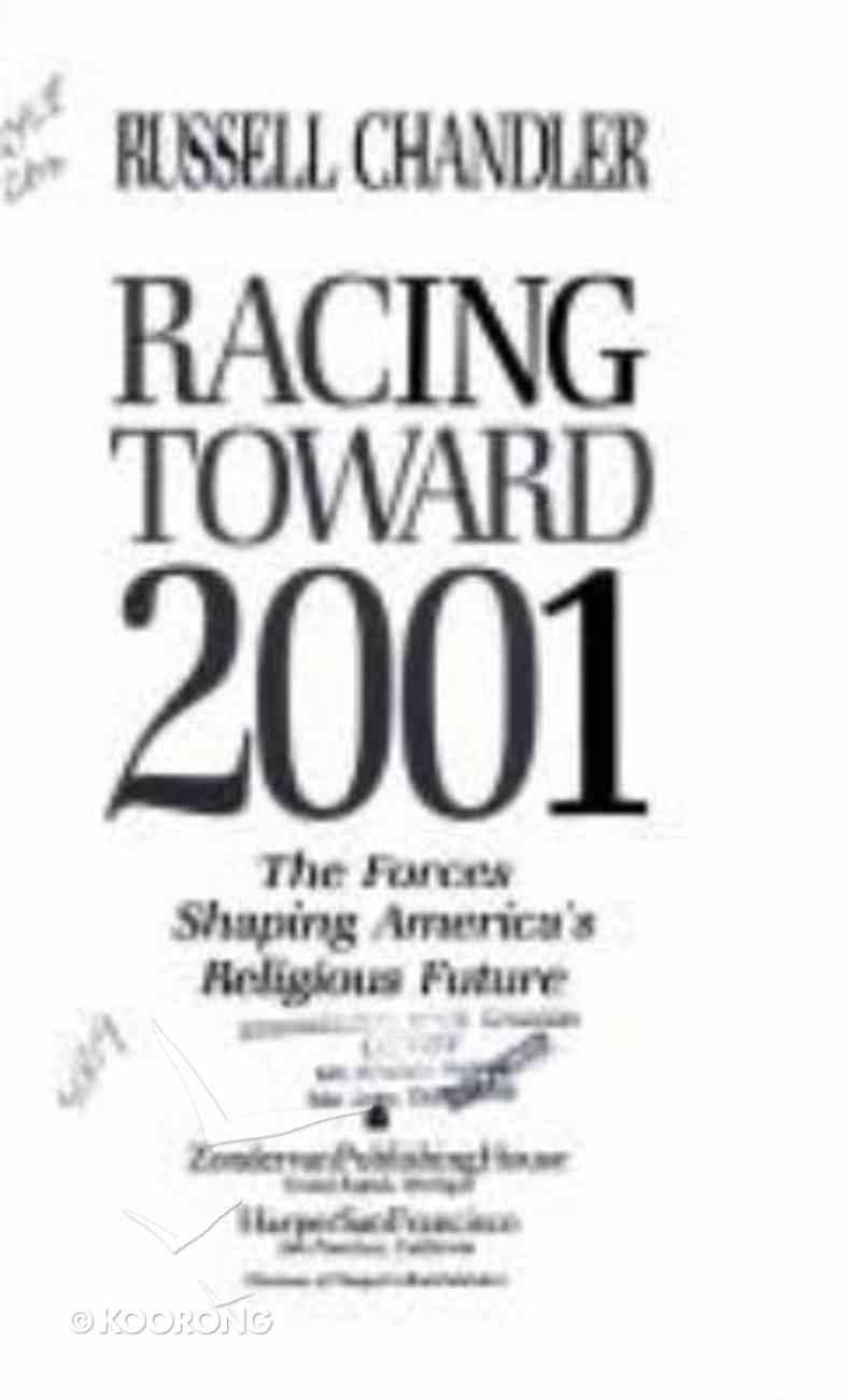 Racing Toward 2001 Hardback