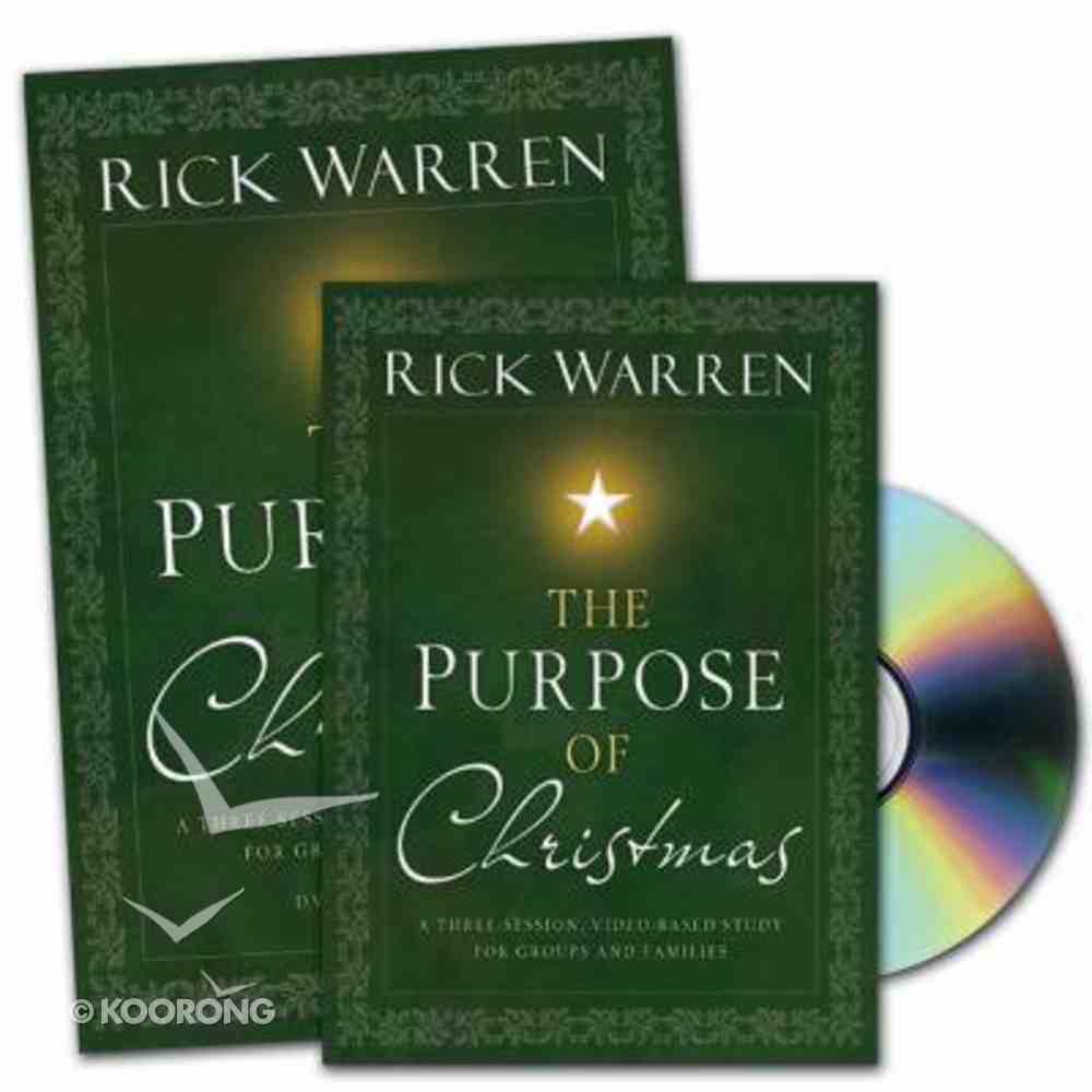 The Purpose of Christmas (Curriculum Kit) Pack