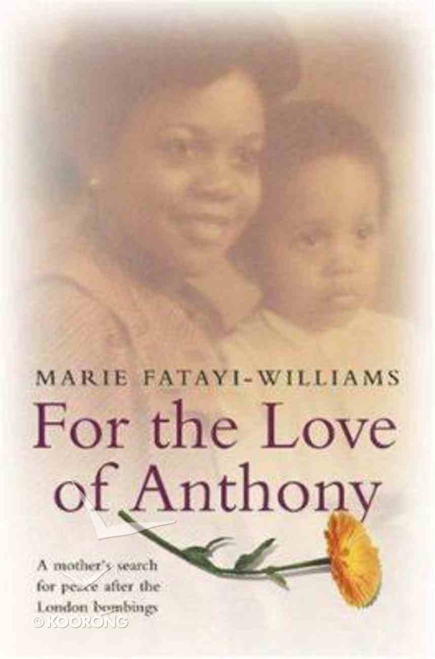 For the Love of Anthony Hardback