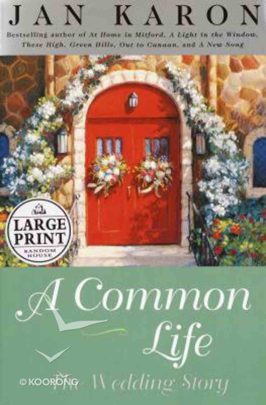 A Common Life (Large Print) Paperback
