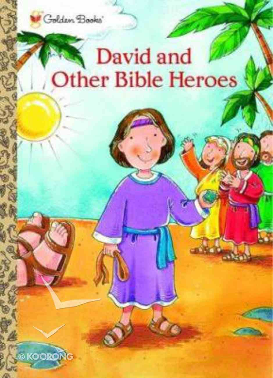 David and Other Bible Heroes (Colouring Book) (Golden Books Series) Paperback