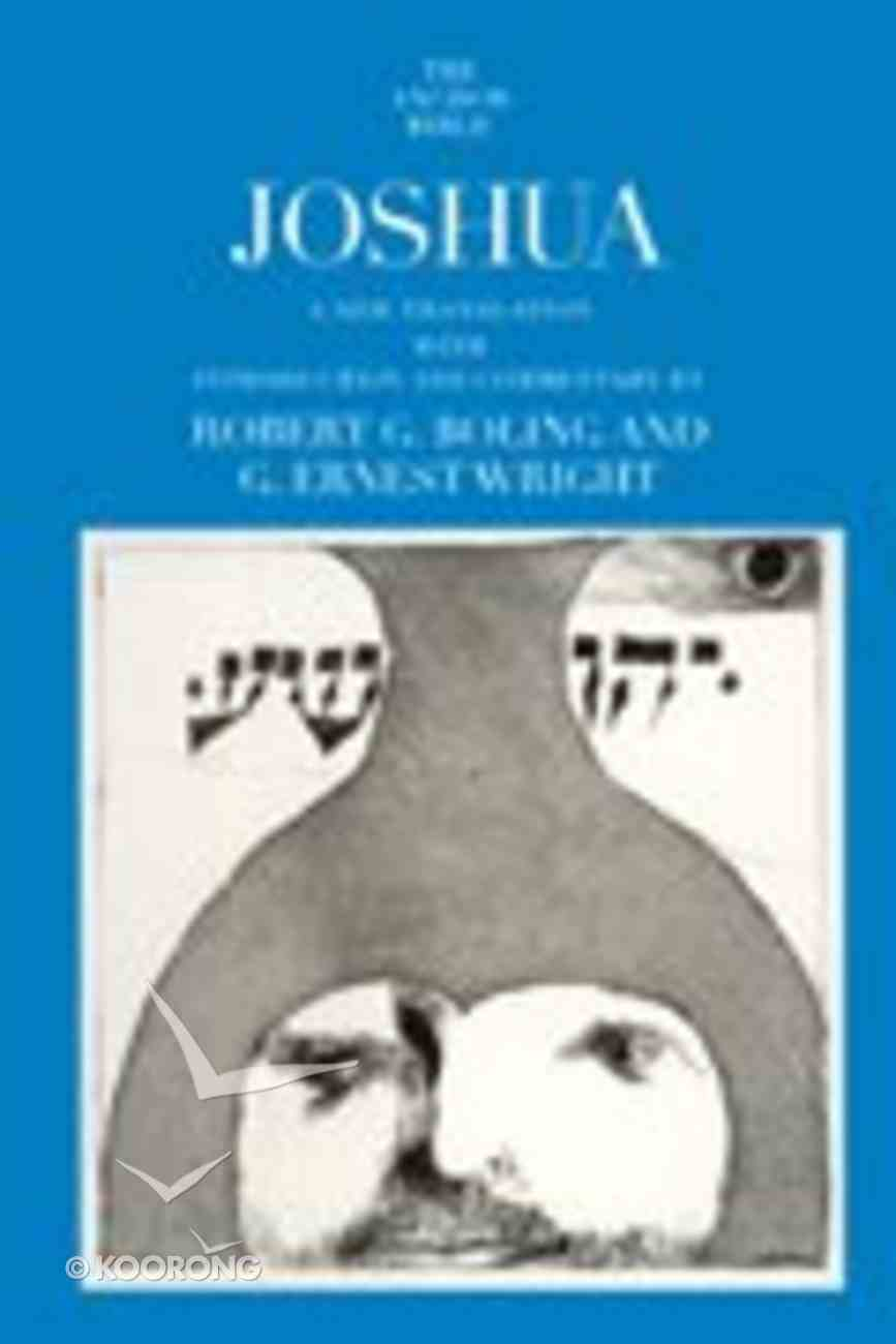 Anchor: Joshua (#06 in Anchor Bible Commentaries Series) Hardback