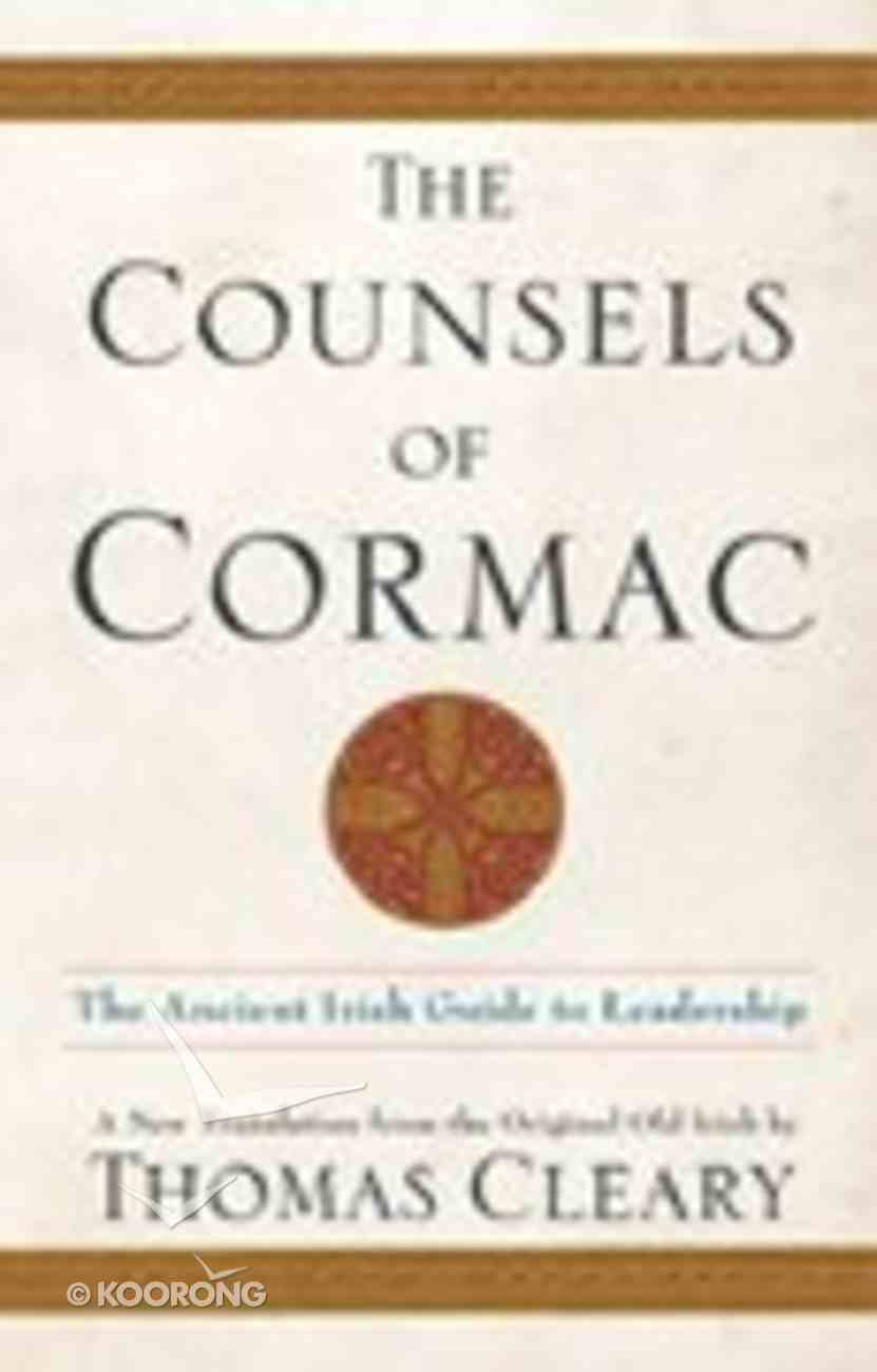 The Counsels of Cormac Hardback