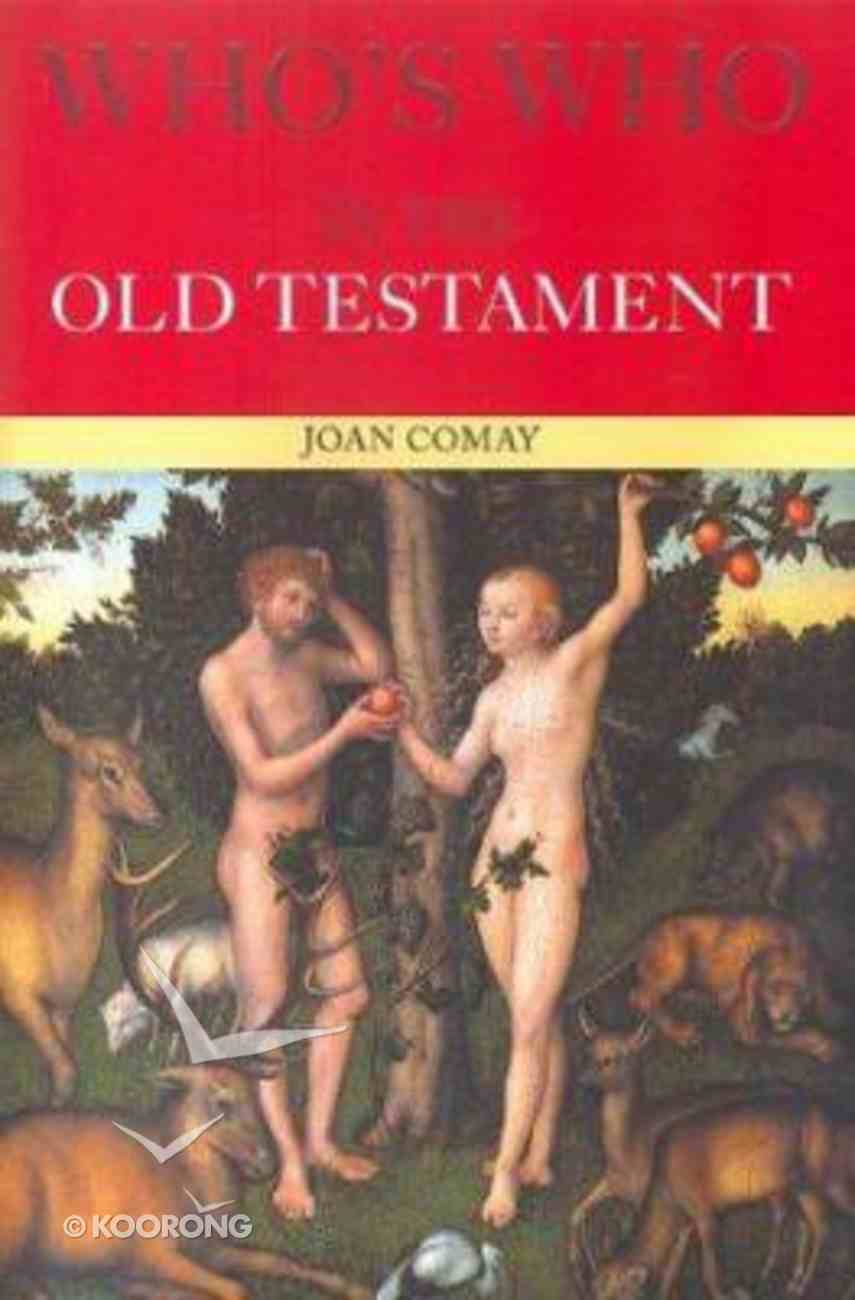 Who's Who in the Old Testament Paperback